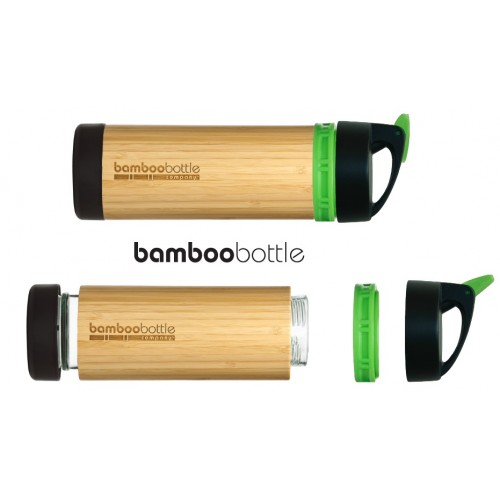 Primrose and Green Bamboo Bottle